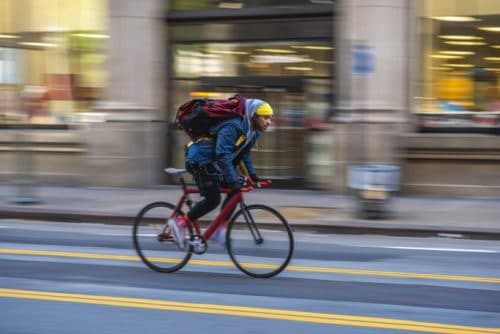 Who is at Fault if You Are Injured by a Delivery Person on a Bike?